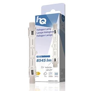 Halogenstab R7s, 400 W, 8545 lm, 2800 K, 2er-Pack HQ HQHR7SJ118003