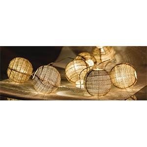 Lichterkette Ball 10 LED, batteriebetrieben HQ HQLEDSLBALL