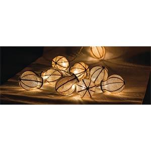 Lichterkette, 0,02 W, für innen, warmweiß HQ HQLEDSLBULB