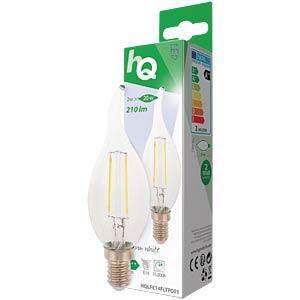 Filament LED Lampe, 2 W, 210 lm, EEK A++ HQ HQLFE14FLTP001