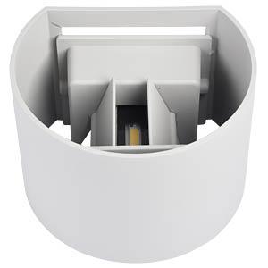 V-TAC Beam-Außenleuchte, weiß, 3000 K, abgerundet V-TAC 7082
