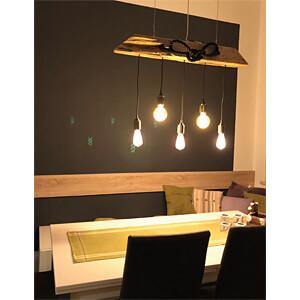 LED-Lampe E27, 5 W, 300 lm, 2200 K, Filament V-TAC