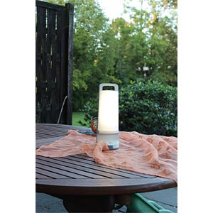 LED-Solarleuchte, Mobil, mit USB-Lader, 1,3 W, weiß, IP54 ECO LIGHT P 9041 WH