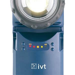 LED-Handlampe PL-850, 3 W, 240 lm, blau, 4500 mA Akku IVT GMBH 312208