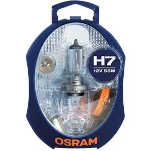 Kfz-Beleuchtungsset, H7, Ersatzlampenbox, PX26d OSRAM 4050300876375