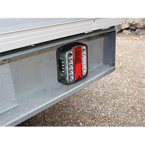 Set of LED rear lights for motor vehicle trailers EAL 10103