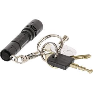 LED-Taschenlampe, 20 lm, schwarz, 1x AAA (Micro) KÖNIG KNTORCHG001