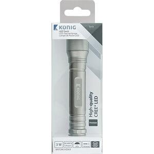 LED-Taschenlampe, 150 lm, 2x AA (Mignon) KÖNIG KNTORCHZ003