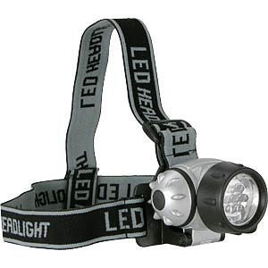 LED head torch, 7 LEDs EAXUS 01207