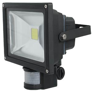 LED- FLutlichtstrahler, IR-Melder 20W,ww, EEK A++ - A LEDINO LED-FLS20IRWW