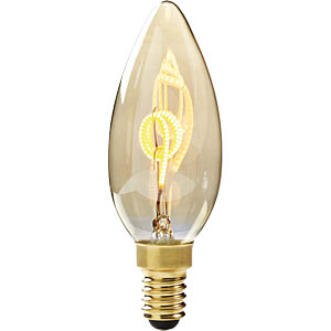 LED-Lampe E14, 3 W, 100 lm, 2000 K, dimmbar NEDIS LEDBTFE14CAN