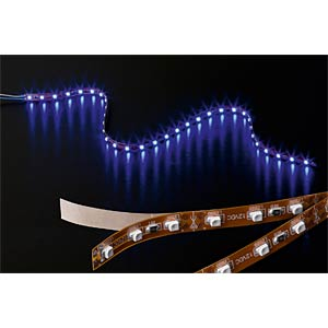 LED strip, 60 LEDs, white, 12 V DC, EEC A GOOBAY 30486