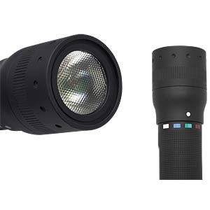 LED Lenser torch, P7 Quatro Colour LEDLENSER 9407-Q