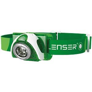 SEO 3 LED-Stirnlampe, grün LEDLENSER 6103