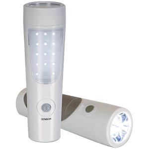 Rechargeable LED torch with PIR sensor PEREL EFL10