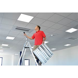 6 x LED Panel 45W, 620x620mm, 4000 K, EEK A V-TAC 62176