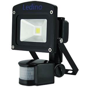 LED- FLutlichtstrahler, IR-Melder 10W,ww, EEK A++ - A LEDINO LED-FLG10IRBWW