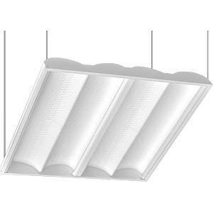 Recessed grid light, 620 x 620mm, 40W LED GALAXY RL620-39-840