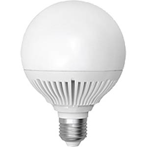 LED Globe, 15W, 1125 lm, 3000 K, EEK A+ INTEREUROPE LIGHT LLGN2715