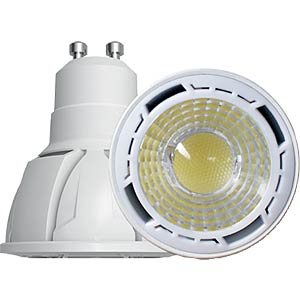 LED Spot, 6 W, 400 lm, warm-weiß, 3000K, EEK A+ INTEREUROPE LIGHT LL-MHGU226C