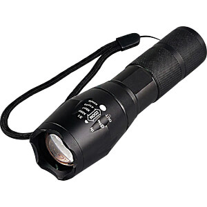 LED flash light, 1000 lm, zoom, 5 mode, 3xAAA (Micro) LUXULA LX0210