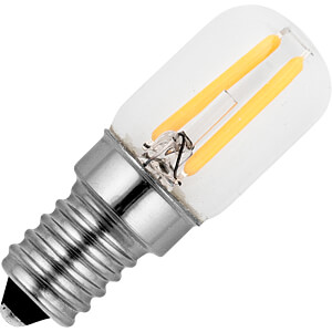 LED-Lampe E14, 1.5 W, 100 lm, 2500 K, Filament SCHIEFER LIGHTING LV023820502