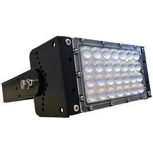 HighBay, 50 W, 6000 lm, 4000 K, eckig, schwarz, IP65 LUXULA LX0400