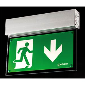 Emergency light fixture for wall mounting, incl. battery BELTRONA MEXM72501