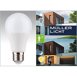 LED-Lampe E27, 9 W, 806 lm, 2700 K, HF-Sensor MÜLLER LICHT 400366
