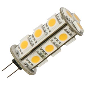 LED-Stiftsockellampe G4, 3,7 W, 191 lm, 2700 K LED GALAXY SMD-G4R55-18WW