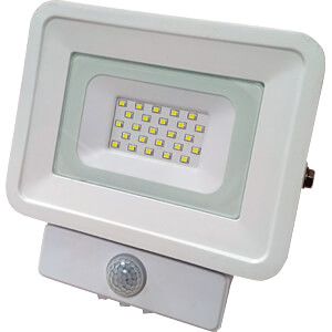 LED floodlight, motion sensor, 10 W, 850 lm, 4500 K, IP65 OPTONICA FL5842