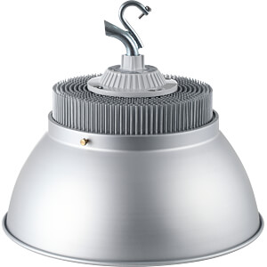 HighBay LED light, 15000 lm, 150 W, IP54, 5700 K, silver OPTONICA HB8125