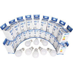 LED bulb E27, 7 W, 560 lm, 2800 K, 100 pcs OPTONICA SP1717PP