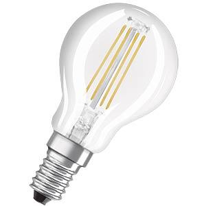 LED-Lampe E14 RETROFIT, 4 W, 470 lm, 2700 K, Filament NEOLUX 4052899970199