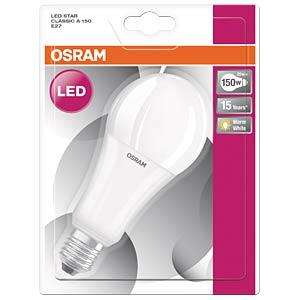 LED-Lampe E27 STAR CLASSIC, 20 W, 2452 lm, 2700 K OSRAM 4052899959118