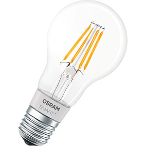 Smart Light, lamp, E27, 5,5W, gloeidraad, SMART+, HomeKit, EEK A OSRAM 4058075091061