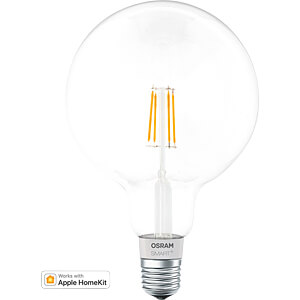 Smart Light, Bulb, E27, 5.5W, Filament, SMART+, HomeKit, EEK A+ OSRAM 4058075091108