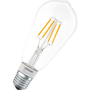 Smart Light, Lampe, E27, 5,5W, Filament, SMART+, HomeKit, EEK A+ OSRAM 4058075091146