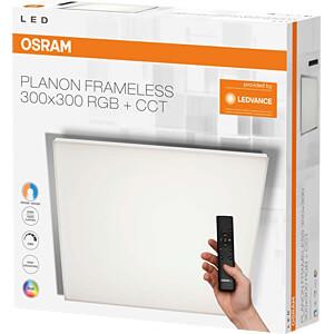LED-Panel PLANON FRAMELESS, 24 W, 1400 lm, 3000 - 5000 K, CCT OSRAM 4058075153080