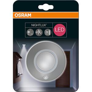 LED-Anbauleuchte NIGHTLUX, 1,7 W, 105 lm, 4000 K, silber OSRAM 4058075026605