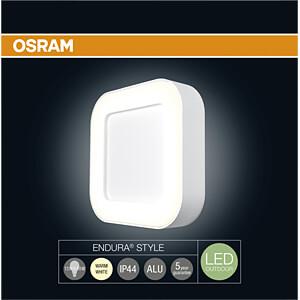 Wandleuchte ENDURA STYLE, 13 W, 480 lm, 3000 K, weiß, IP44 OSRAM 4058075031715