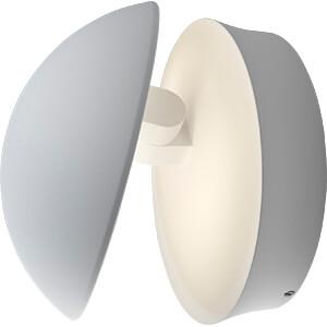 Wandleuchte ENDURA STYLE Cover, 13 W, 640 lm, 3000 K, weiß, IP44 OSRAM 4058075031791