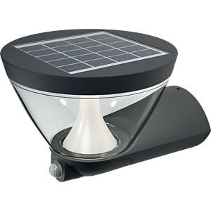 LED-Solarleuchte ENDURA STYLE, 5 W, 340 lm, 3000 K, grau, IP44 OSRAM 4058075032484