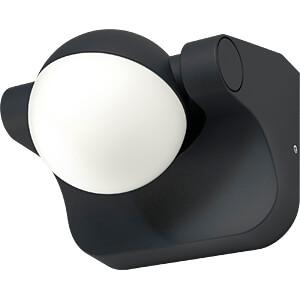 Wandleuchte ENDURA STYLE Sphere, 8 W, 600 lm, 3000 K, grau, IP44 OSRAM 4058075033078