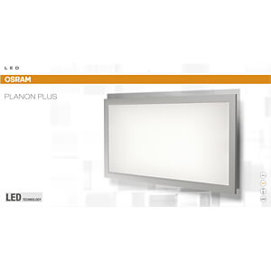 LED-Panel PLANON PLUS, 15 W, 1400 lm, 3000 K, eckig, weiß OSRAM 4058075041356