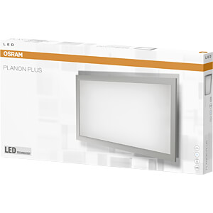 Panel LED PLANON PLUS, 15 W, 1400 lm, 4000 K, prostokątny, OSRAM 4058075041370