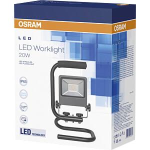 LED-Baustrahler WORKLIGHT, 20 W, 6400 K, grau, IP65 OSRAM 4058075043817