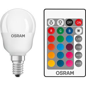 LED-Lampe STAR+ RGBW E14, 4,5 W, 250 lm, 2700 K, dimmbar OSRAM 4058075045712