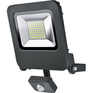 LED-Flutlicht ENDURA FLOOD SENSOR, 50 W, 4000 lm, 3000 K, grau OSRAM 4058075064362