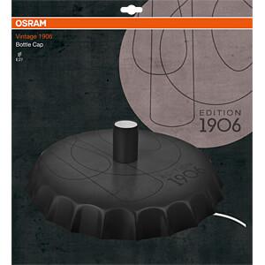 Wandleuchte VINTAGE 1906 PENDULUM BOTTLE, E27, rund, schwarz OSRAM 4058075073647